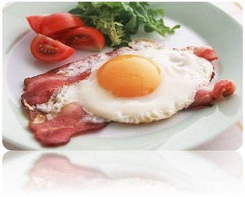 Готовим яичницу с сыром